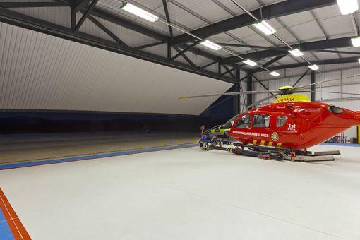 helikopter hangar kapıları